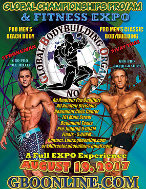 GBO Global Championships PRO/AM & Fitness Expo