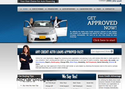 Bad Credit Car Loan Site
