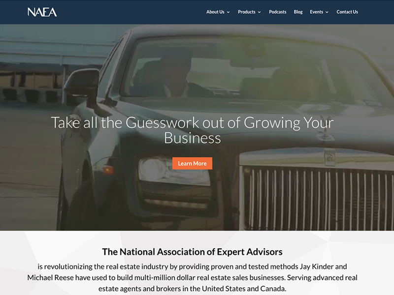 National Association of Expert Advisors Website Move